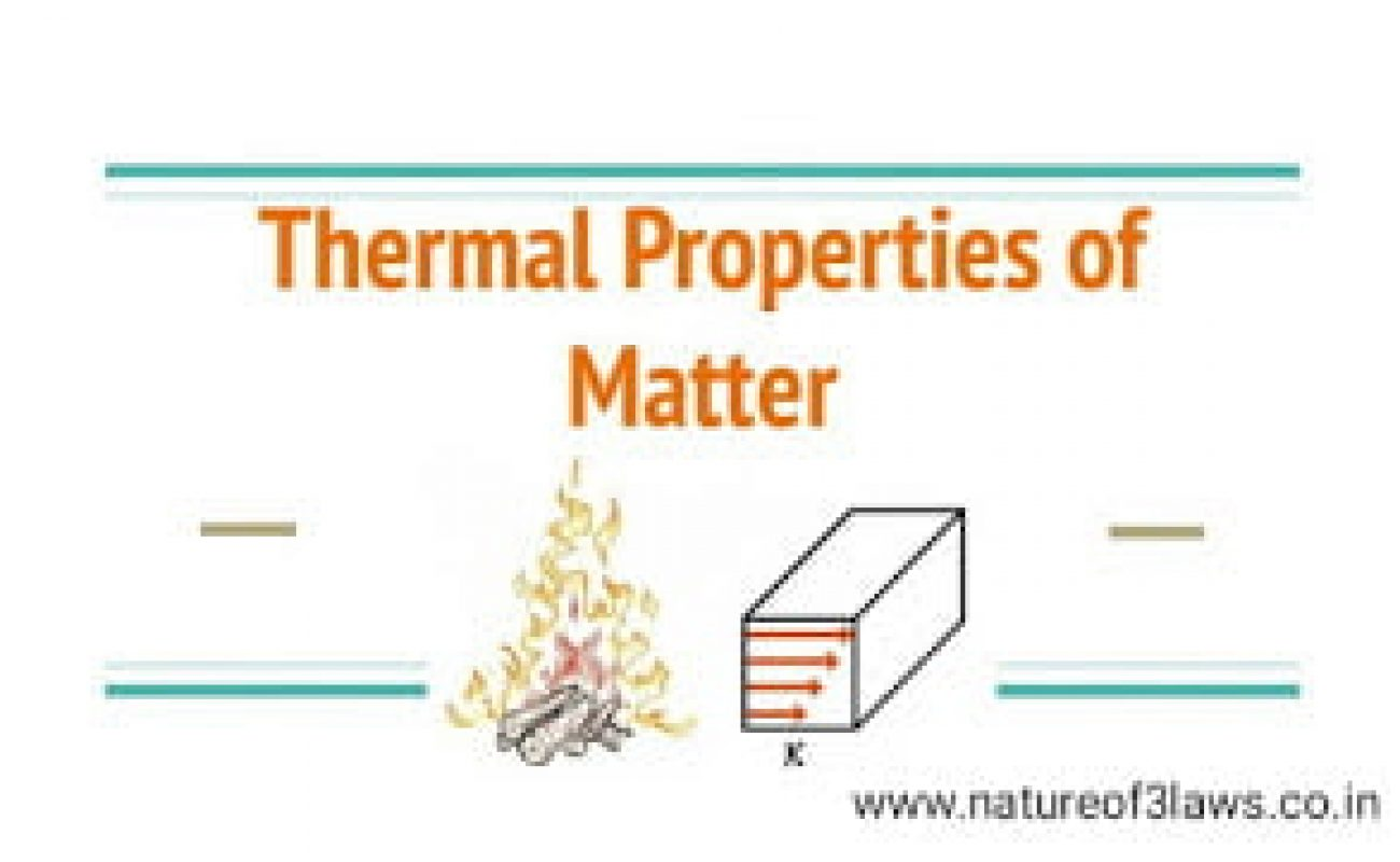 Thermal properties of matter.| Concept booster, chapter highlights, study material for IIT JEE, NEET etc.