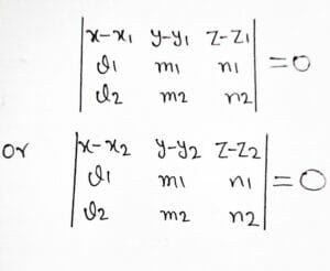 Three Dimensional Geometry (part - 2) , The Planes   study material for IIT JEE   concept booster, chapter highlights/