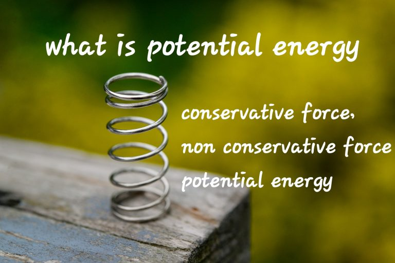 Potential energy definition